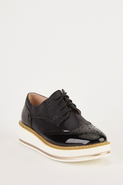 Platform Brogue Shoes