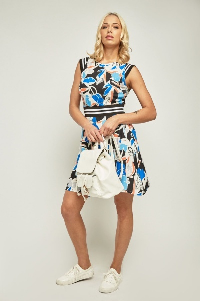 All Over Print Swing Dress