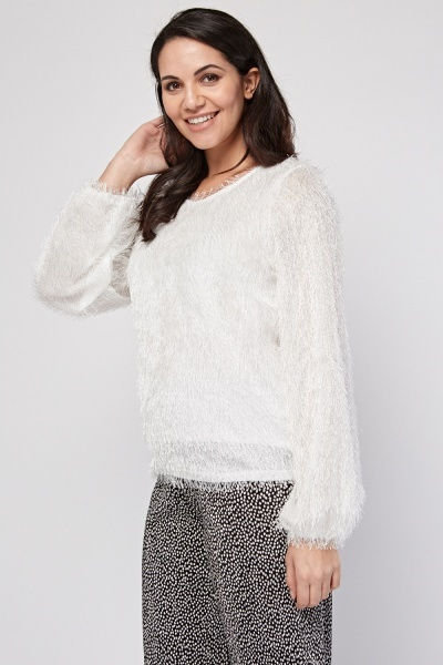Eyelash Knit Top