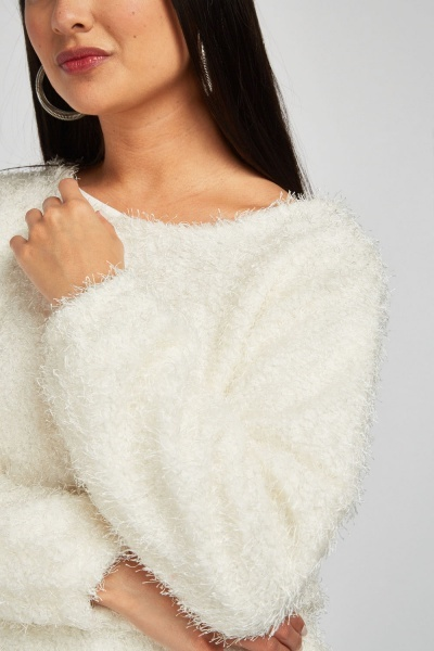 Chunky Eyelash Knit Jumper