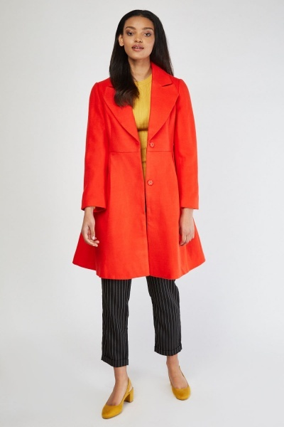 Box Pleated Frock Coat