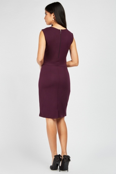 Zibi London Princess-Line Midi Dress