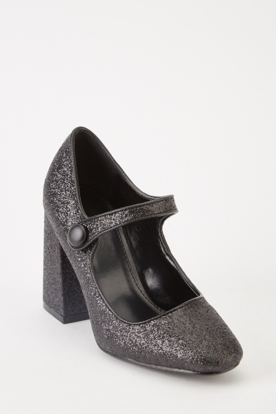 Shimmery Mary Jane Shoes