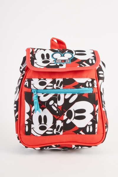 Mickey Mouse Themed Backpack