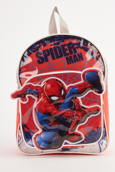 Spider Man Themed Backpack
