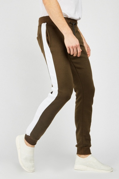 Striped Side Casual Joggers