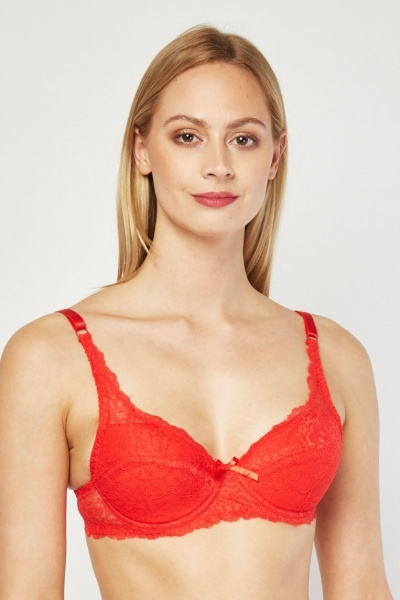 2 Pack Underwire Padded Bra Set