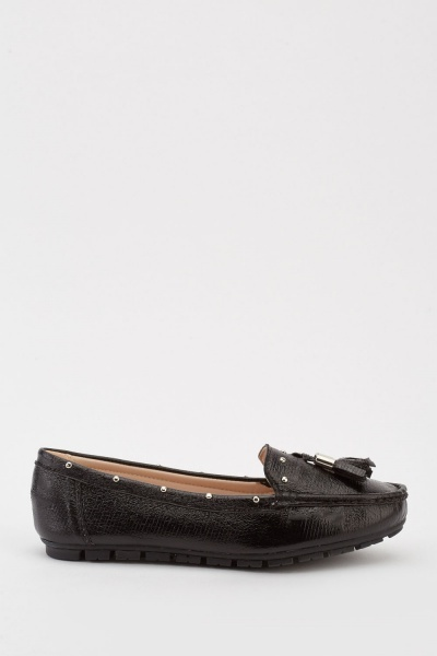 Tassel Front Loafers