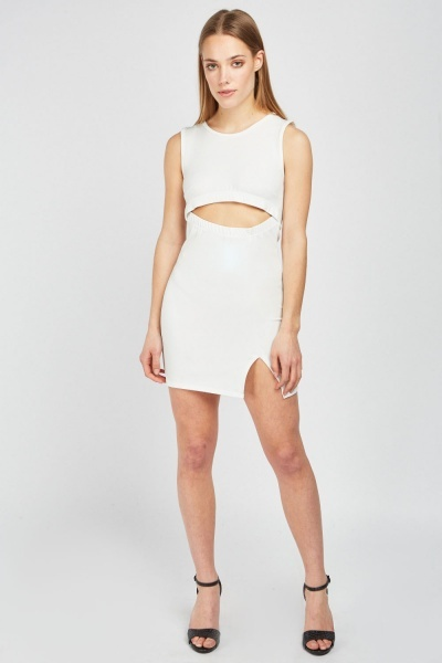 Cut Out Mini Bodycon Dress