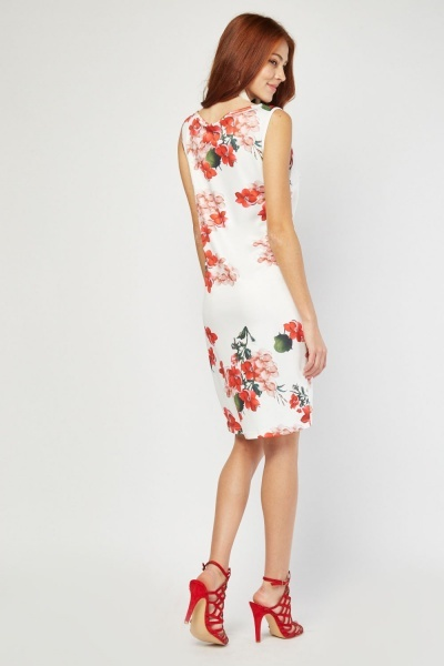 Digital Printed Midi Dress