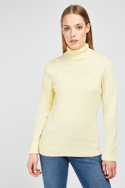 Turtle Neck Knit Jumper