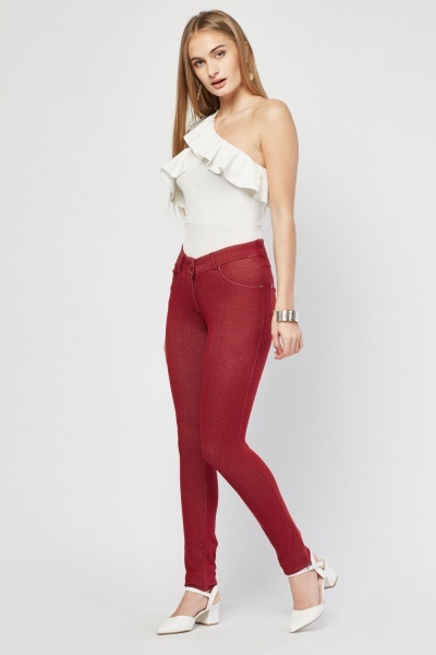 Basic Skinny Fit Jeggings
