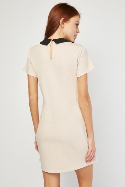 Peter-Pan Collar Shift Dress