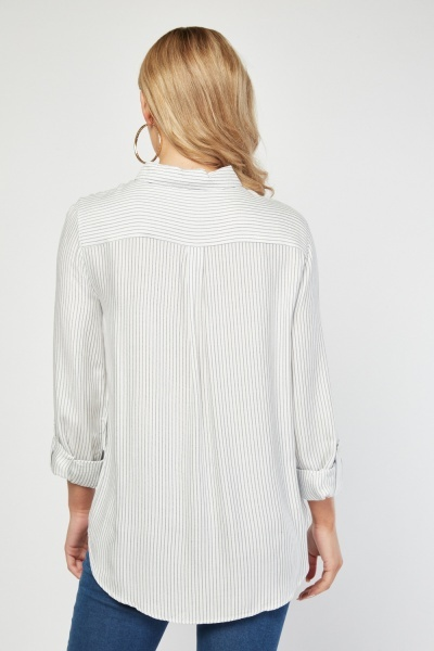 Pin Stripe Light Shirt