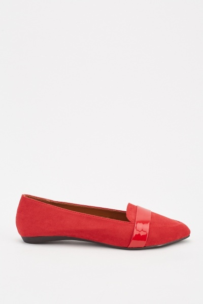 Slip-On Flat Loafers