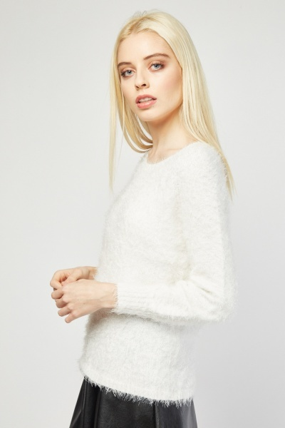 Soft Eyelash Knit Jumper