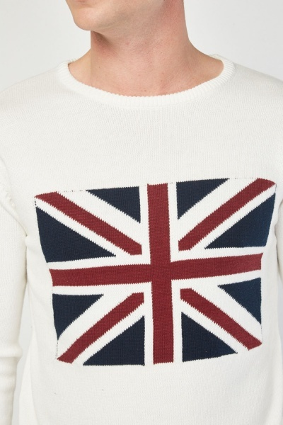 British Flag Pattern Jumper