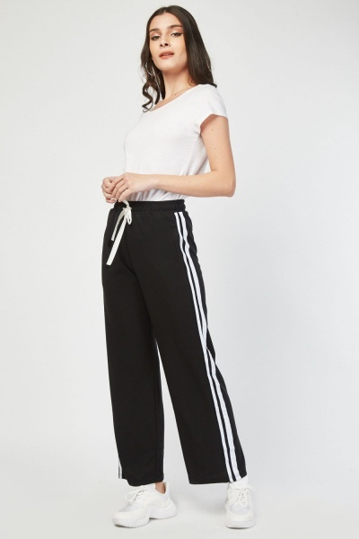 Stripe Side Track Pants