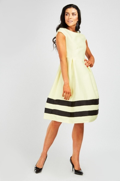fad9e4d0c953 Princess Line Midi Skater Dress - Just £5