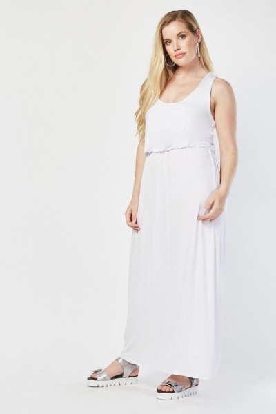 4d811452cdb14 Sleeveless Maxi Dress - Just £5