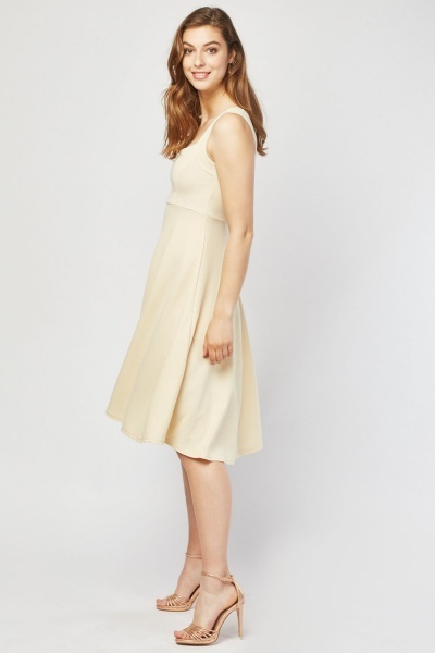Square Neck Swing Dress