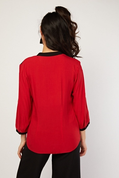 Two Tone Blouse