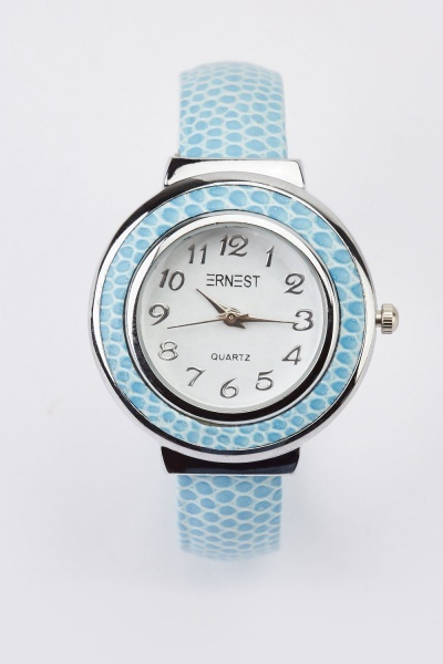 Speckled Strap Bangle Watch