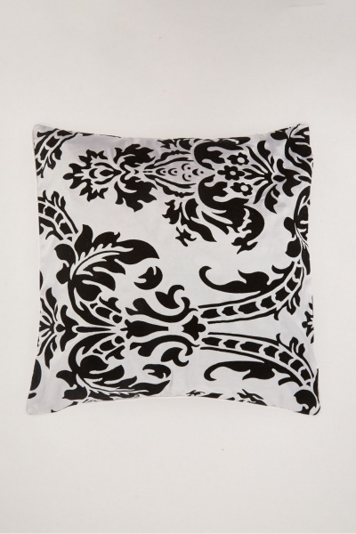 Pack Of 2 Damask Cushion Cover Set