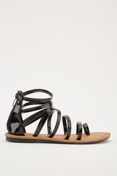 Strappy Gladiator Style Sandals