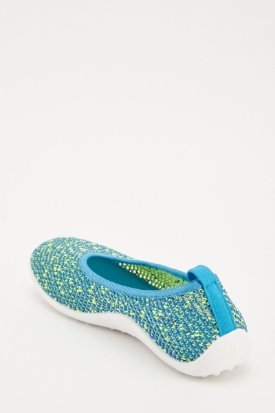 Slip On Knitted Trainers