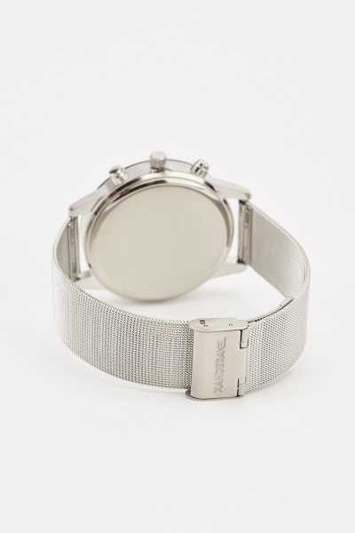 Stainless Mesh Strap Multi-Dial Watch