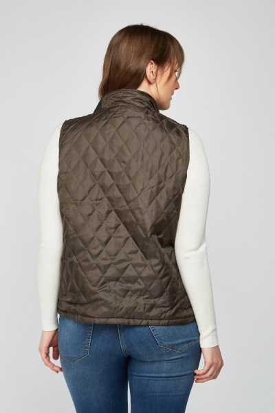 Quilted Reversible Gilet