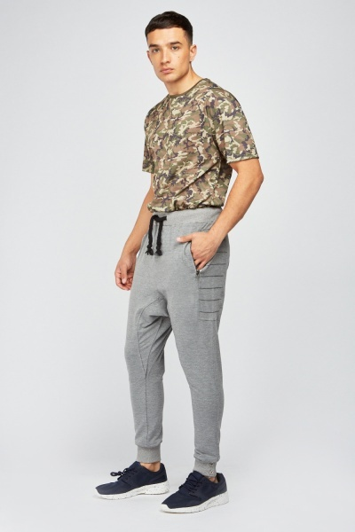 Stitched Side Harem Joggers
