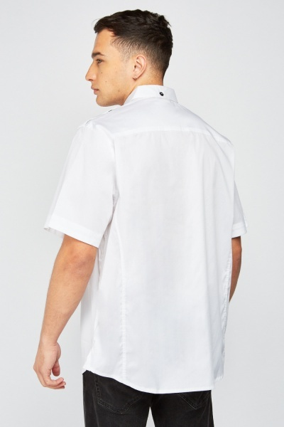 Short Sleeve White Shirt