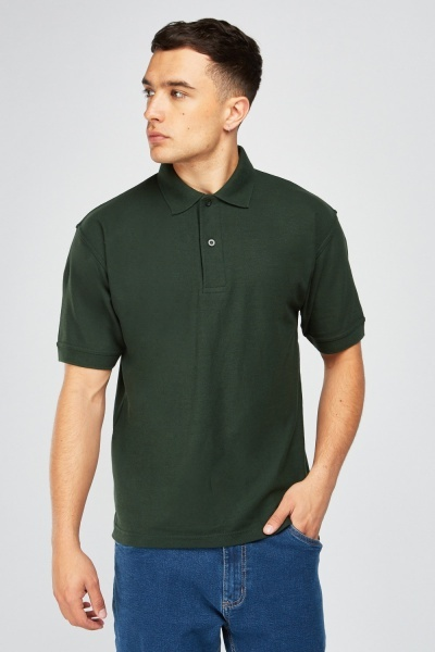 Pack Of 3 Short Sleeve Polo-Shirts