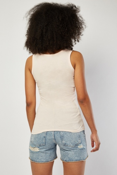 Pack Of 4 Basic Vest Tops