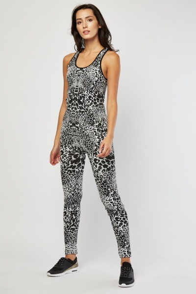 Animal Print Sportswear Set