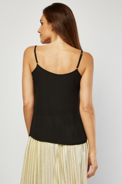 Sheer Chiffon Cami Top