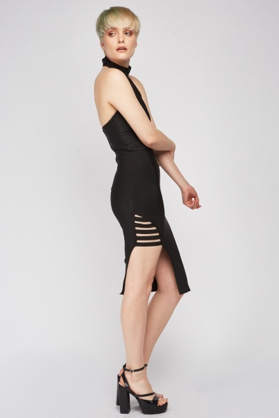 Cut Out Side Bodycon Dress