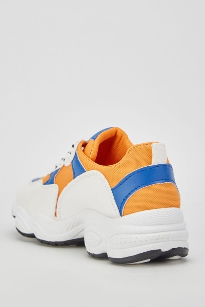 Multi Colour Chunky Trainers