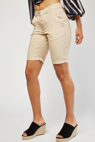 Long Line Chino Shorts