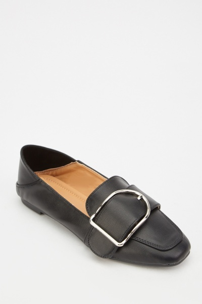 Buckled Slip On Loafers