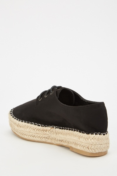 Lace Up Espadrilles
