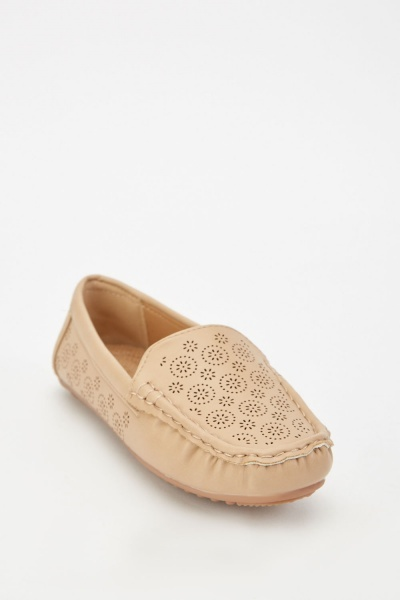 Laser Cut Patterned Shoes