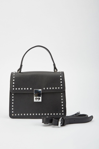 Studded Brief Style Bag