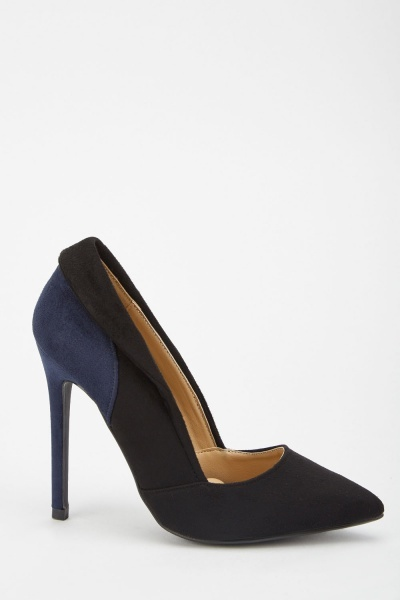 Two Tone Court Shoes