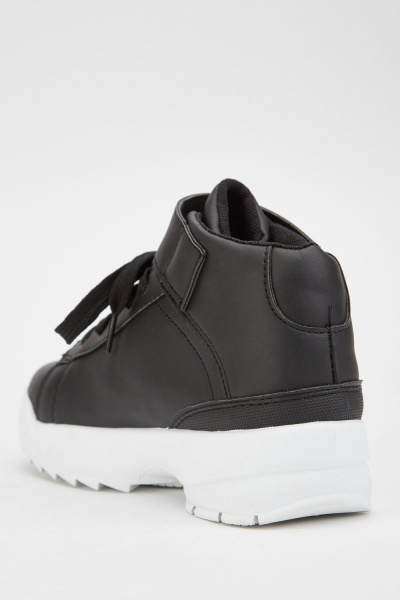 Chunky High Top Sneakers