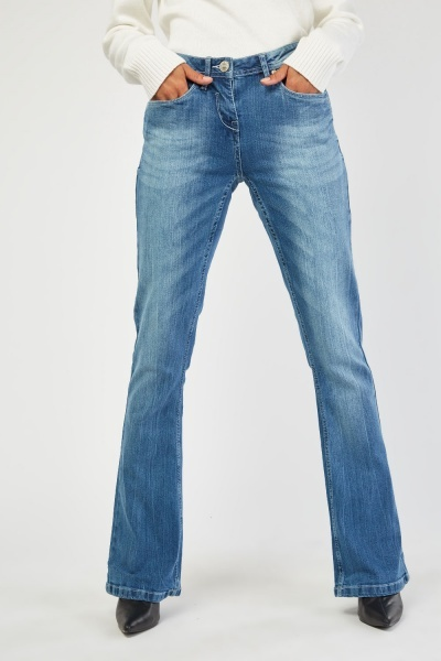 Low Waist Flared Jeans