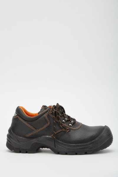 Lace Up Safety Work Shoes