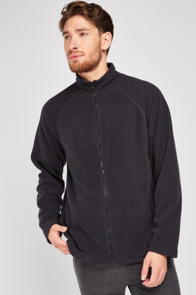 Poly-Fleece Zip Up Jacket